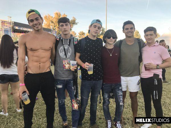 Young gay porn pics of bareback group fuck